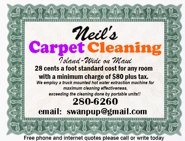 Neils Carpet Cleaning - Maui